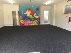 Large garage carpet