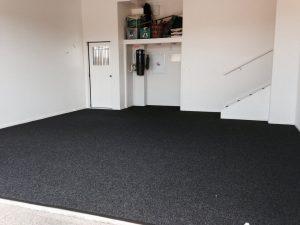 Black Garage Carpet