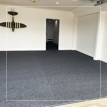 Charcoal Garage Carpet